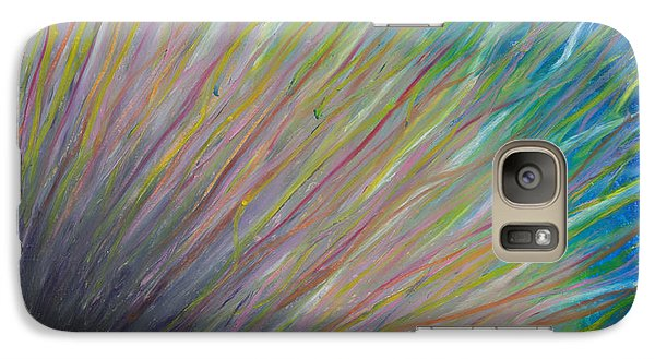 Galaxy Case featuring the painting Sunrise For Jane by Ania M Milo