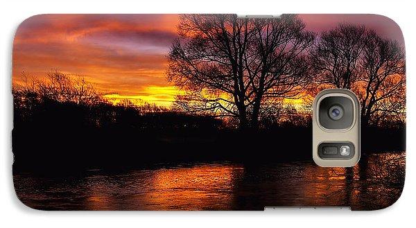 Galaxy Case featuring the photograph Sunrise II by Franziskus Pfleghart
