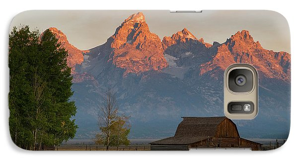 Galaxy Case featuring the photograph Sunrise In Jackson Hole by Steve Stuller