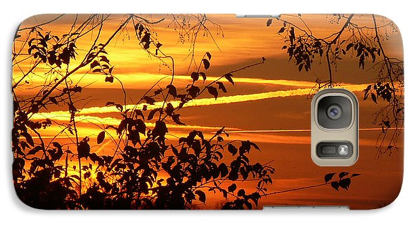 Galaxy Case featuring the photograph Sunrise In Tennessee by EricaMaxine  Price