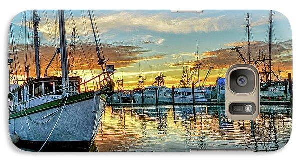 Sunrise On Bay Galaxy S7 Case