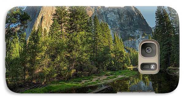 Sunrise On El Capitan Galaxy S7 Case by Peter Tellone