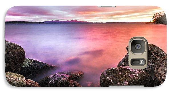 Sunrise On Lake Winnipesaukee Galaxy S7 Case