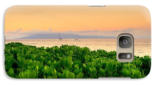 Galaxy Case featuring the photograph Sunrise On Maui by Kelly Wade