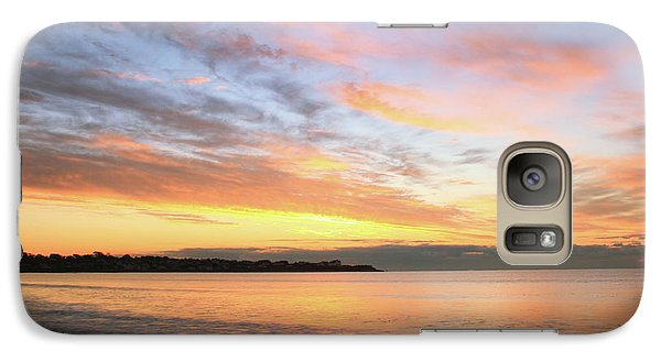 Galaxy Case featuring the photograph Sunrise On Middletown Rhode Island by Roupen  Baker
