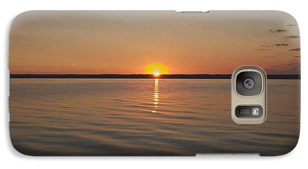 Galaxy Case featuring the photograph Sunrise On Seneca Lake by William Norton