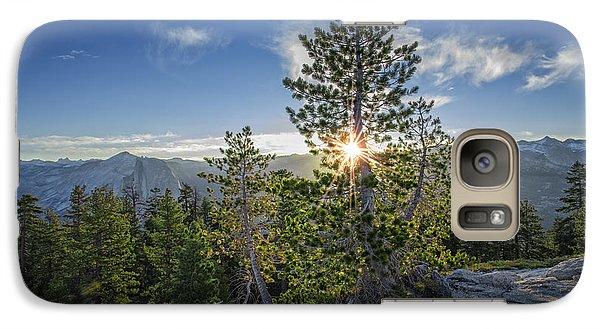 Sunrise On Sentinel Dome Galaxy S7 Case by Rick Berk