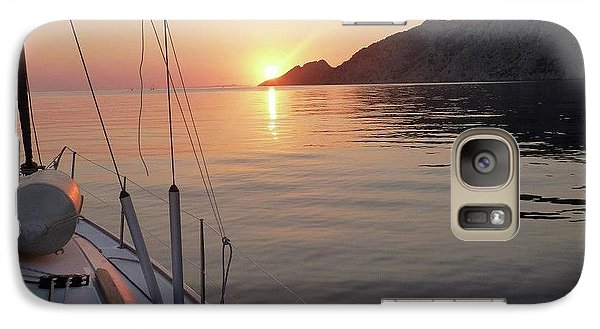 Galaxy Case featuring the photograph Sunrise On The Aegean by Christin Brodie