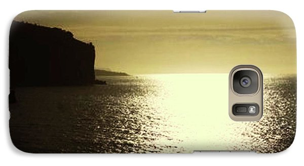 Galaxy Case featuring the photograph Sunrise On The Almalfi Coast by Polly Peacock