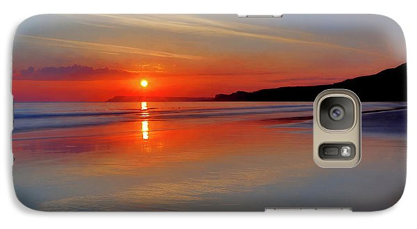 Galaxy Case featuring the photograph Sunrise On The Coast by Roy McPeak