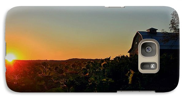 Galaxy Case featuring the photograph Sunrise On The Farm by Chris Berry