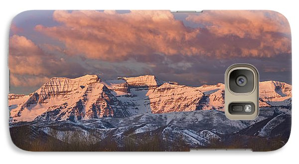 Sunrise On Timpanogos Galaxy S7 Case