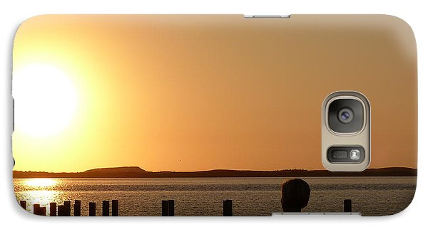 Galaxy Case featuring the photograph Sunrise Over Assateaque by Donald C Morgan
