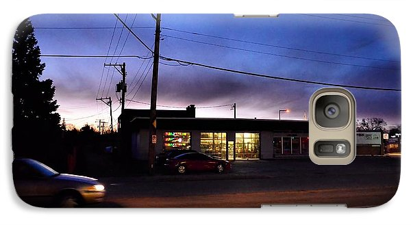 Galaxy Case featuring the photograph Sunrise Over Charlie's by Jeanette O'Toole