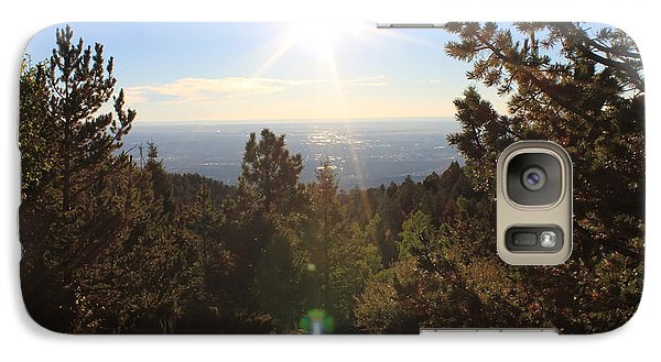 Galaxy Case featuring the photograph Sunrise Over Colorado Springs by Christin Brodie