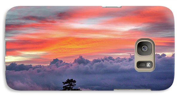 Galaxy Case featuring the photograph Sunrise Over The Smoky's II by Douglas Stucky