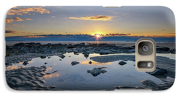 Galaxy Case featuring the photograph Sunrise Over Wells Beach by Rick Berk