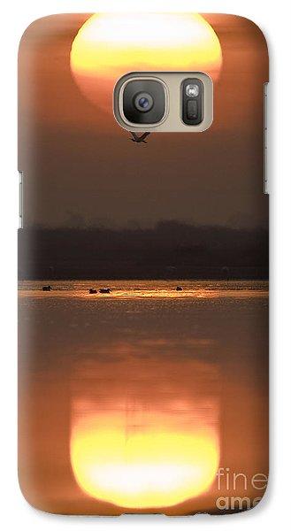 Sunrise Reflection Galaxy S7 Case by Hitendra SINKAR
