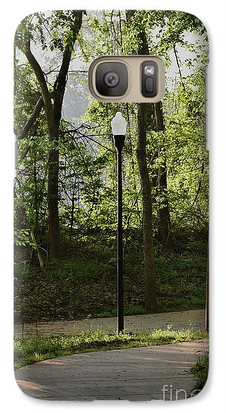 Galaxy Case featuring the photograph Sunrise Service by Skip Willits