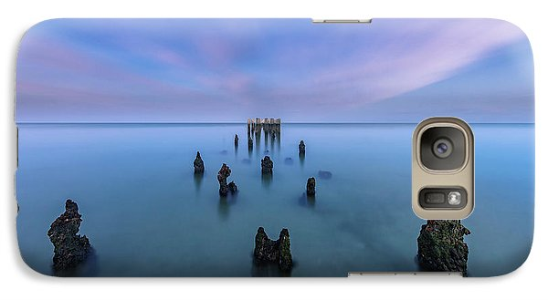 Galaxy Case featuring the photograph Sunrise Symmetry by Mike Lang