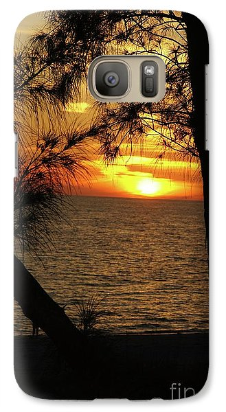 Sunset 1 Galaxy Case by Megan Cohen