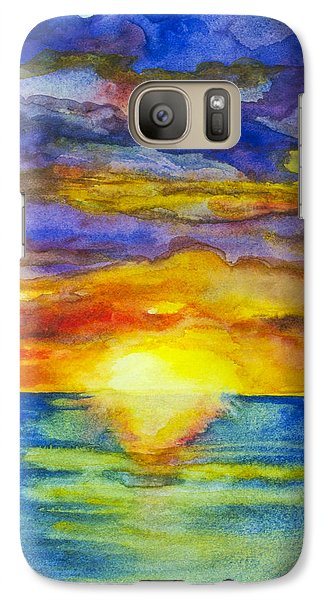 Sunset 1 Galaxy S7 Case