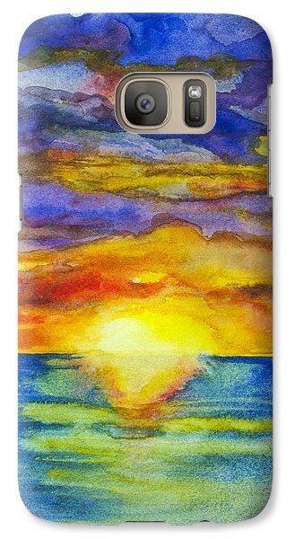 Sunset 1 Galaxy S7 Case by Suzette Kallen