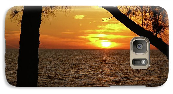 Sunset 2 Galaxy Case by Megan Cohen