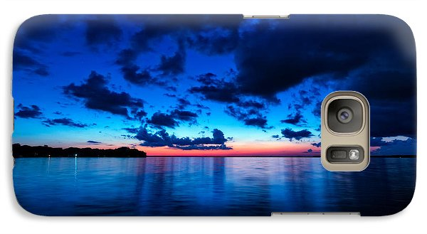 Galaxy Case featuring the photograph Sunset After Glow by Christopher Holmes