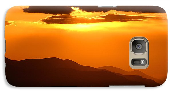 Galaxy Case featuring the photograph Sunset Along Colorado Foothills by Max Allen