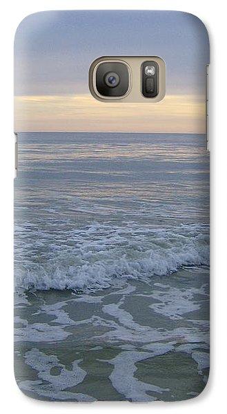 Galaxy Case featuring the photograph Sunset Along Oak Island by Skyler Tipton