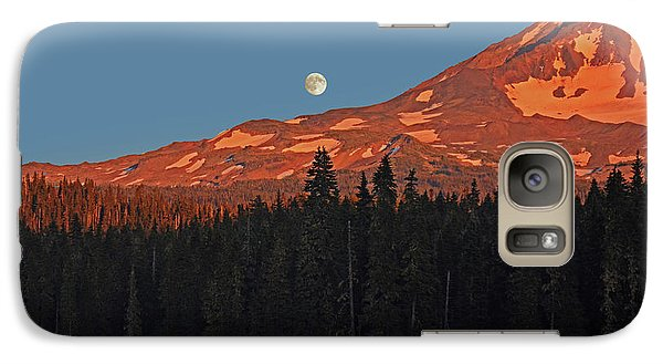 Sunset And Sunrise At Mt Adams Galaxy S7 Case