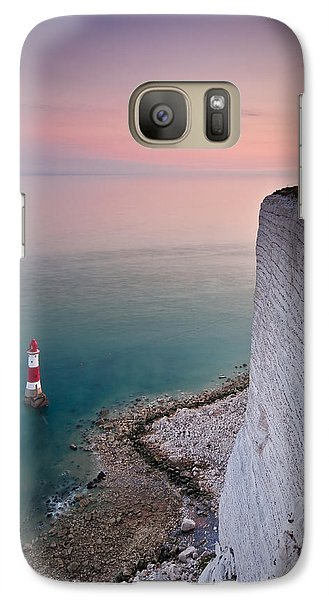 Sunset At Beachy Head Galaxy S7 Case
