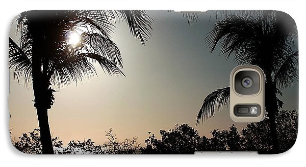 Galaxy Case featuring the photograph Sunset At Flamingo 1 by Ellen O'Reilly
