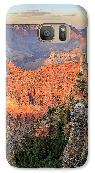 Galaxy Case featuring the photograph Sunset At Mather Point by David Chandler