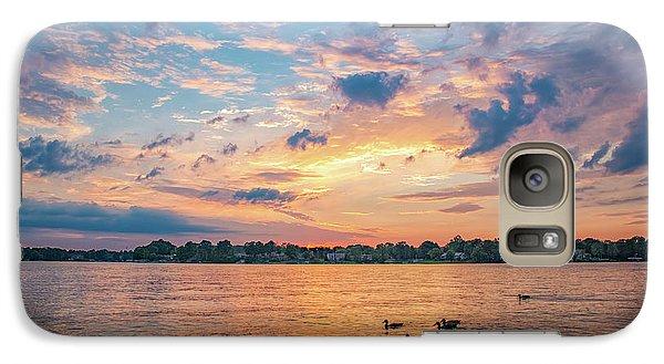 Sunset At Morse Lake Galaxy S7 Case