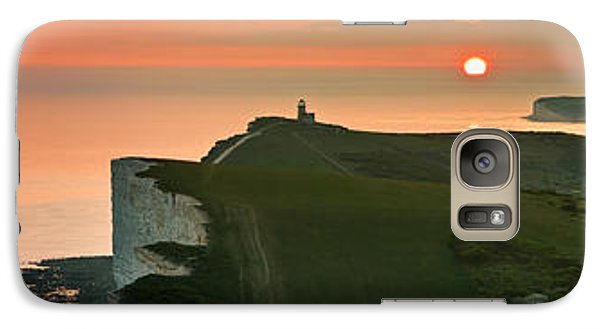 Sunset At The Belle Tout Lighthouse Galaxy S7 Case