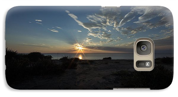 Galaxy Case featuring the photograph Sunset At Torrey Pines by Jeremy McKay