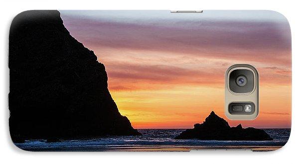 Sunset At Whalehead Beach Galaxy S7 Case