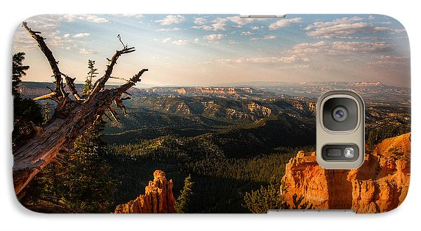 Galaxy Case featuring the photograph Sunset Bryce by Rebecca Hiatt