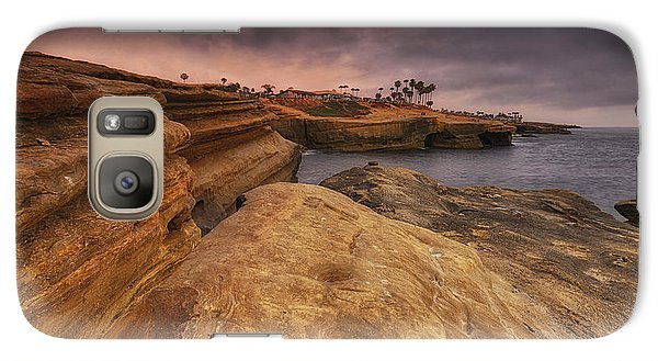 Galaxy Case featuring the photograph Sunset Cliffs - Point Loma - San Diego by Photography  By Sai