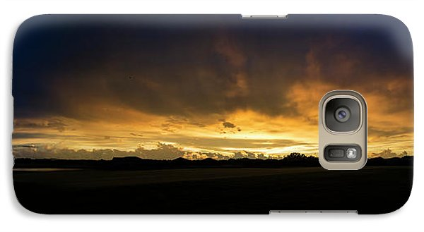 Galaxy Case featuring the photograph Sunset Clouds by Brian Jones