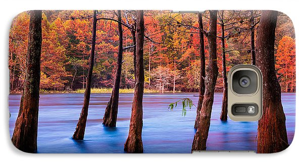 Beaver Galaxy S7 Case - Sunset Cypresses by Inge Johnsson