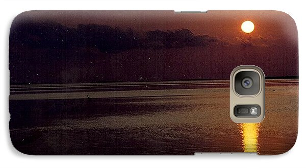 Galaxy Case featuring the photograph Sunset by Denise Moore