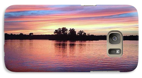 Galaxy Case featuring the photograph Sunset Dreams by Rebecca Wood