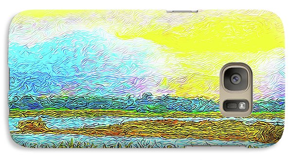 Sunset Ecstasy Galaxy S7 Case by Joel Bruce Wallach