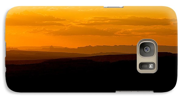Galaxy Case featuring the photograph Sunset by Evgeny Vasenev