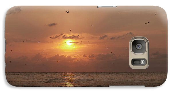Galaxy Case featuring the photograph Sunset by Gouzel -