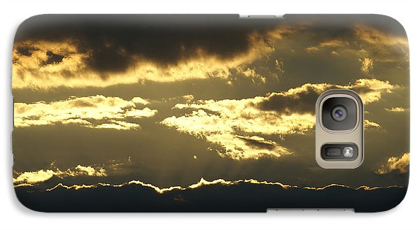 Galaxy Case featuring the photograph Sunset by Heidi Poulin