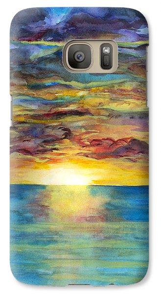 Sunset II Galaxy S7 Case by Suzette Kallen